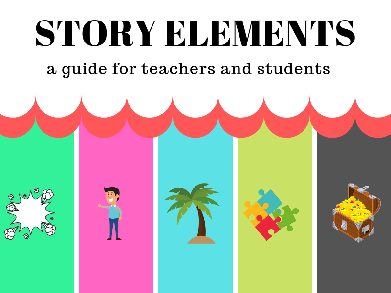 learn about  story elements here