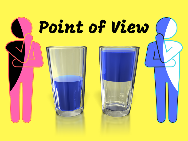 understand  point of view when reading here