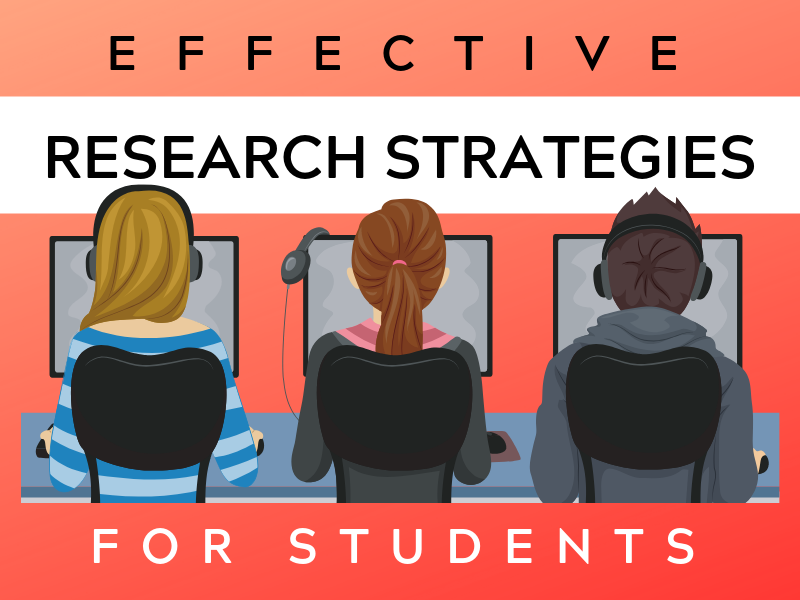 learn about  student research strategies here