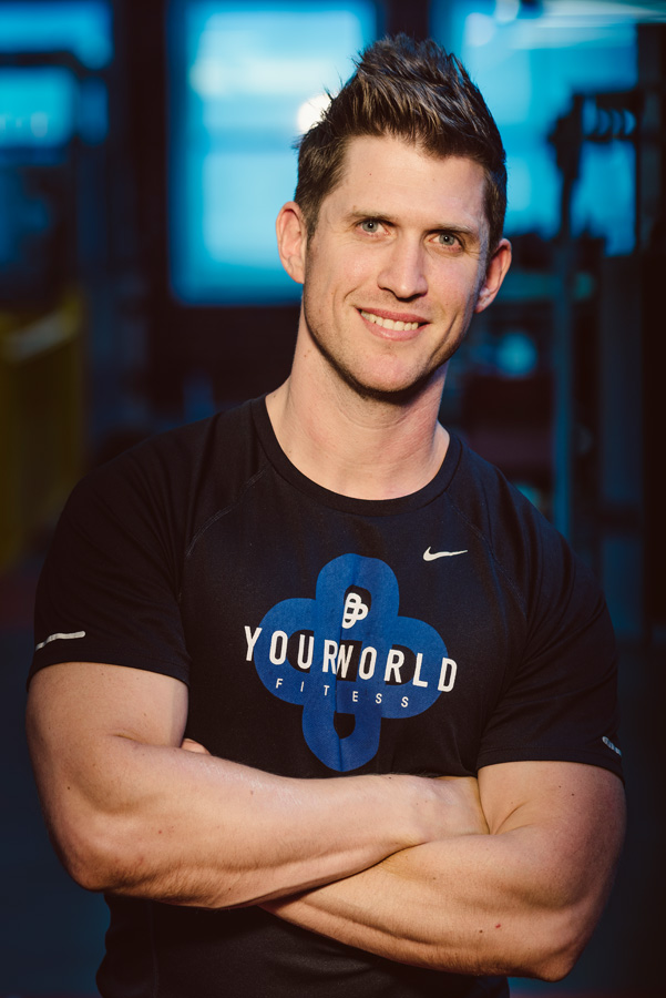 Yourworld Fitness Personal Trainer. Photography by Sofia Calado.