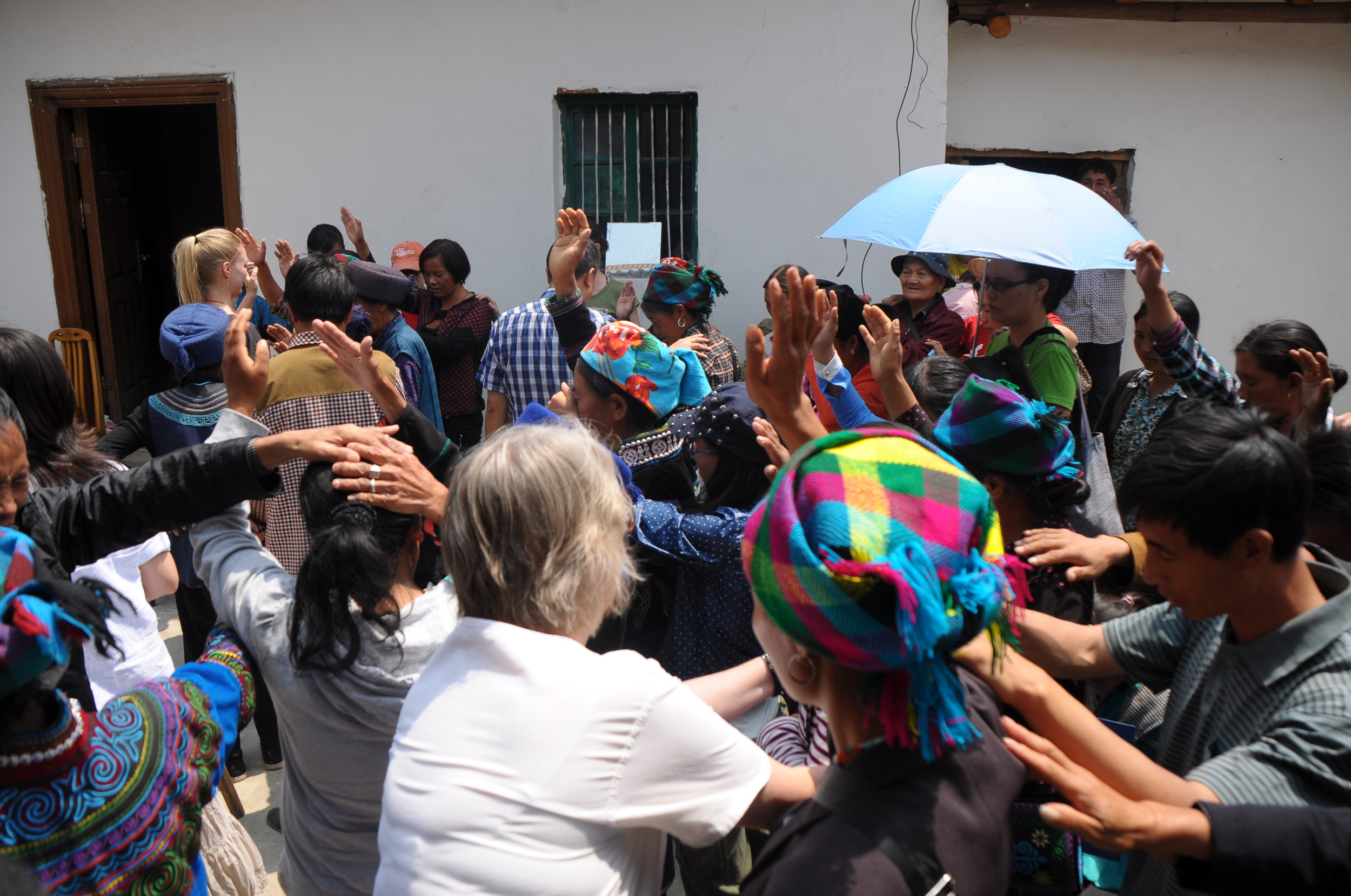 Indigenous, first-generation Jesus followers lay hands on the sick, seeing the healing power of God move through them.
