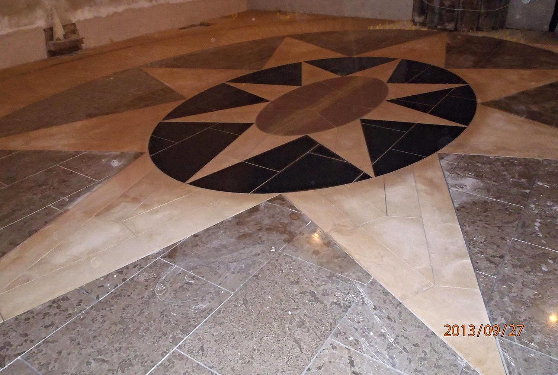 Local Church - Mosaic Flooring