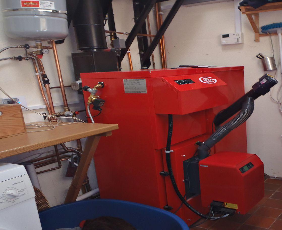 Domestic Pellet Boiler