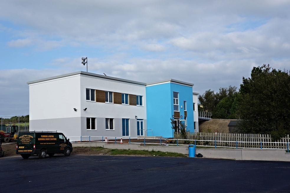 8 Classroom Modular Build in 2014