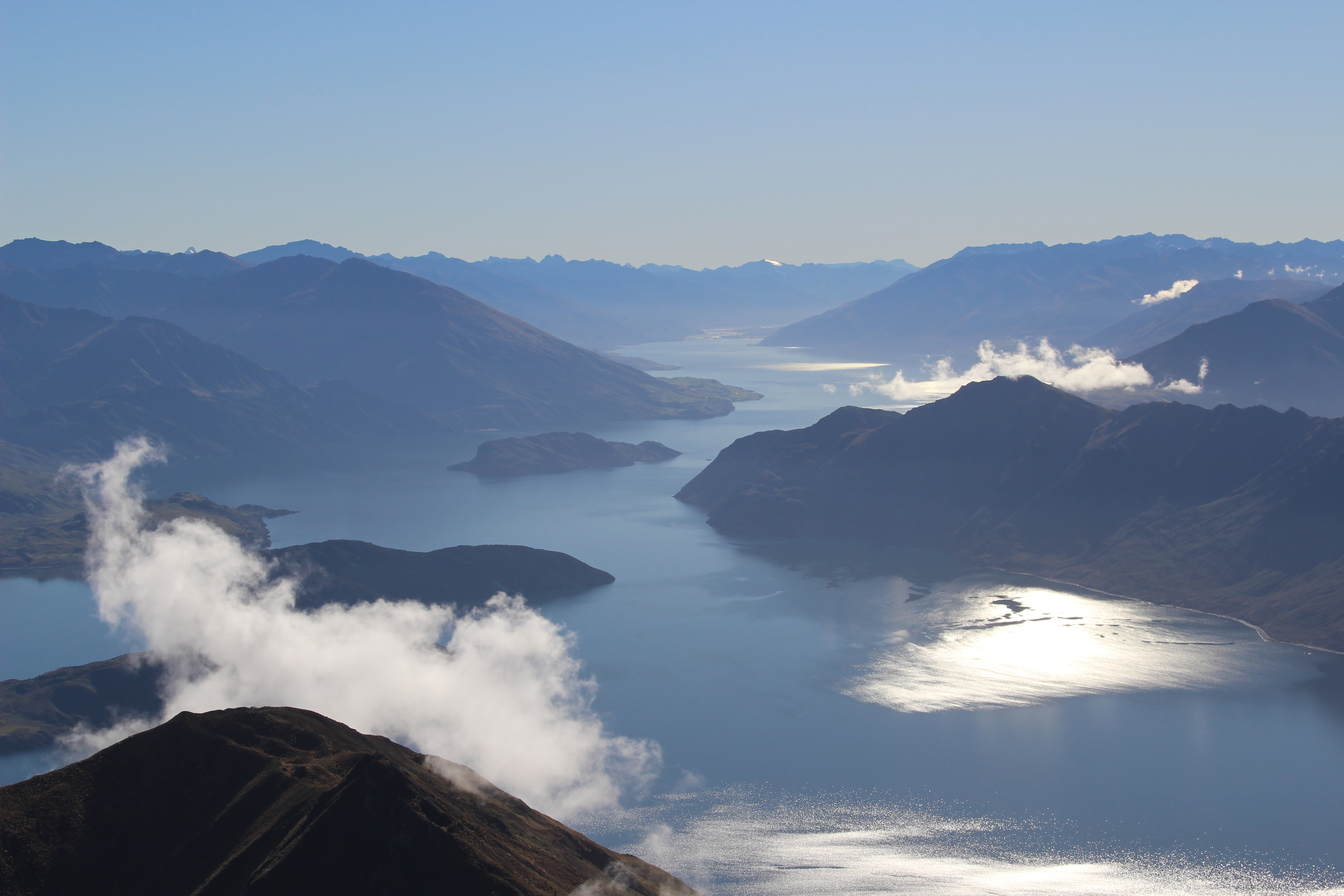 View from Roys Peak, Lake Wanaka photo by Sunstone