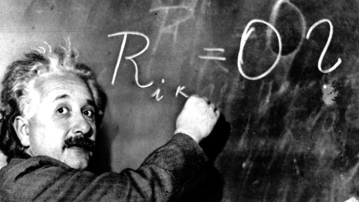 Albert Einstein one of the greatest Mathematicians & Physicists of all time