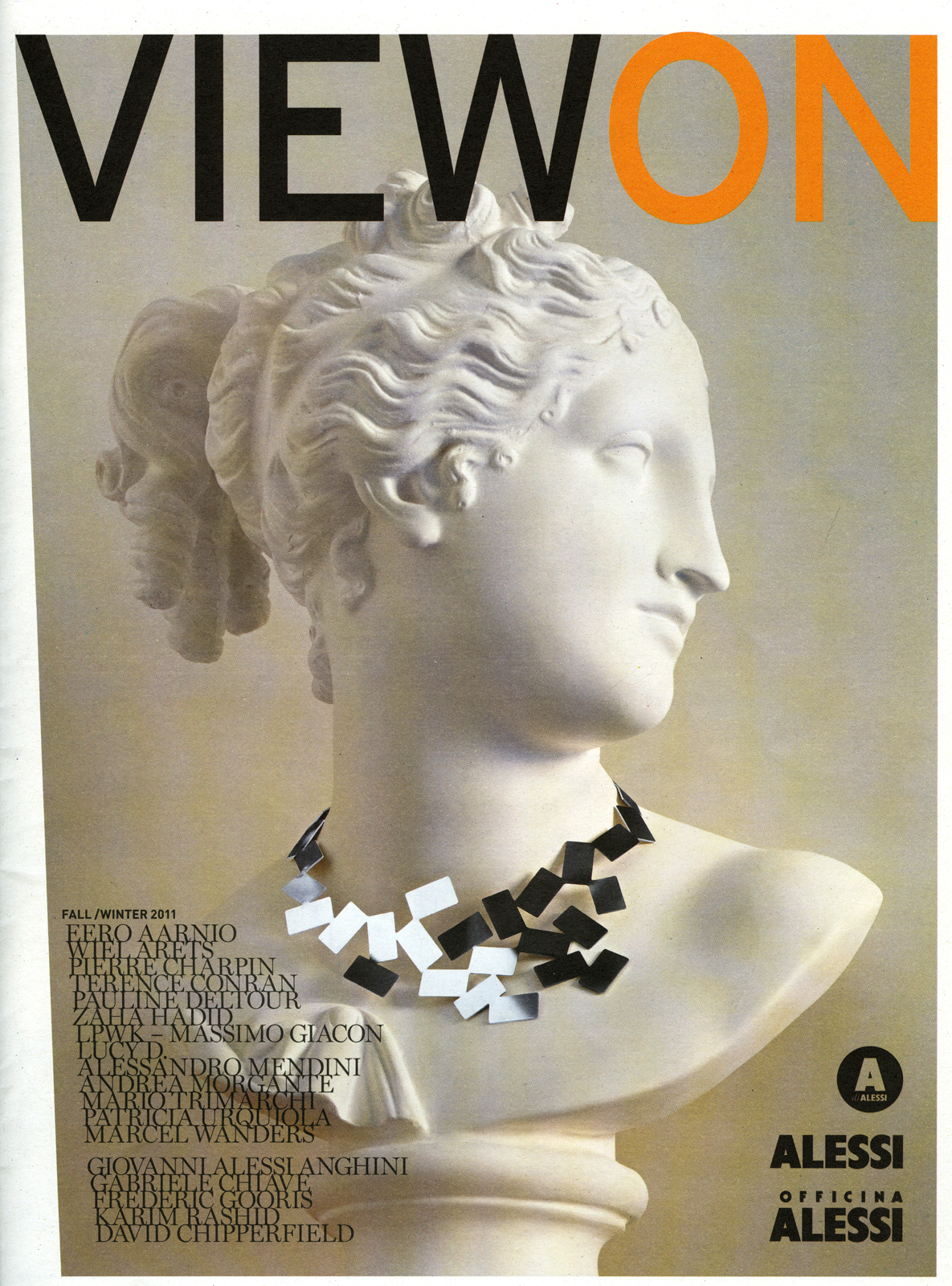 """View on"" f/w 2011  Alessi Editions, Verbania, Italy"