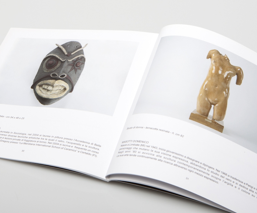 """Mother Earth"" sculpture contest  Art Catalogue, Tipografia Rivarolese Editions 2008"
