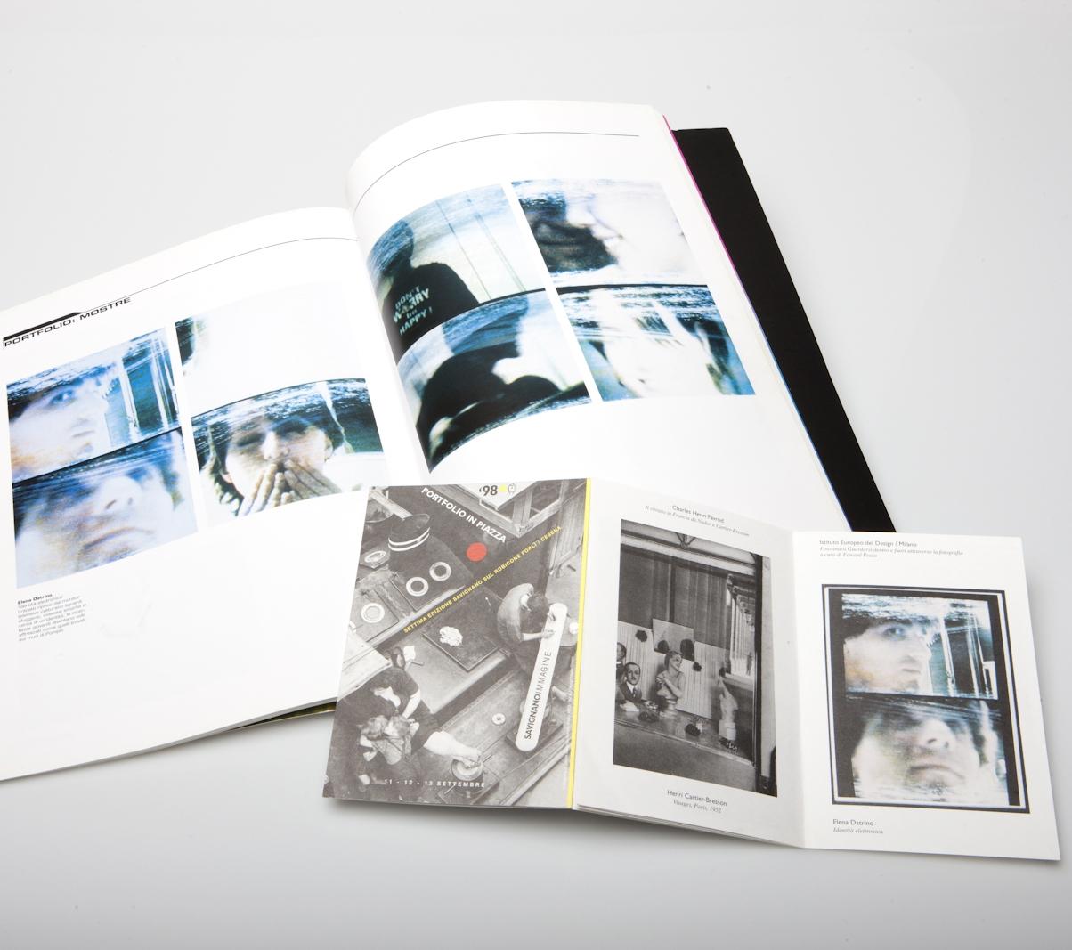 Editorials  Immagini Fotopratica Magazine, Design Diffusion Editions, Milan 1998