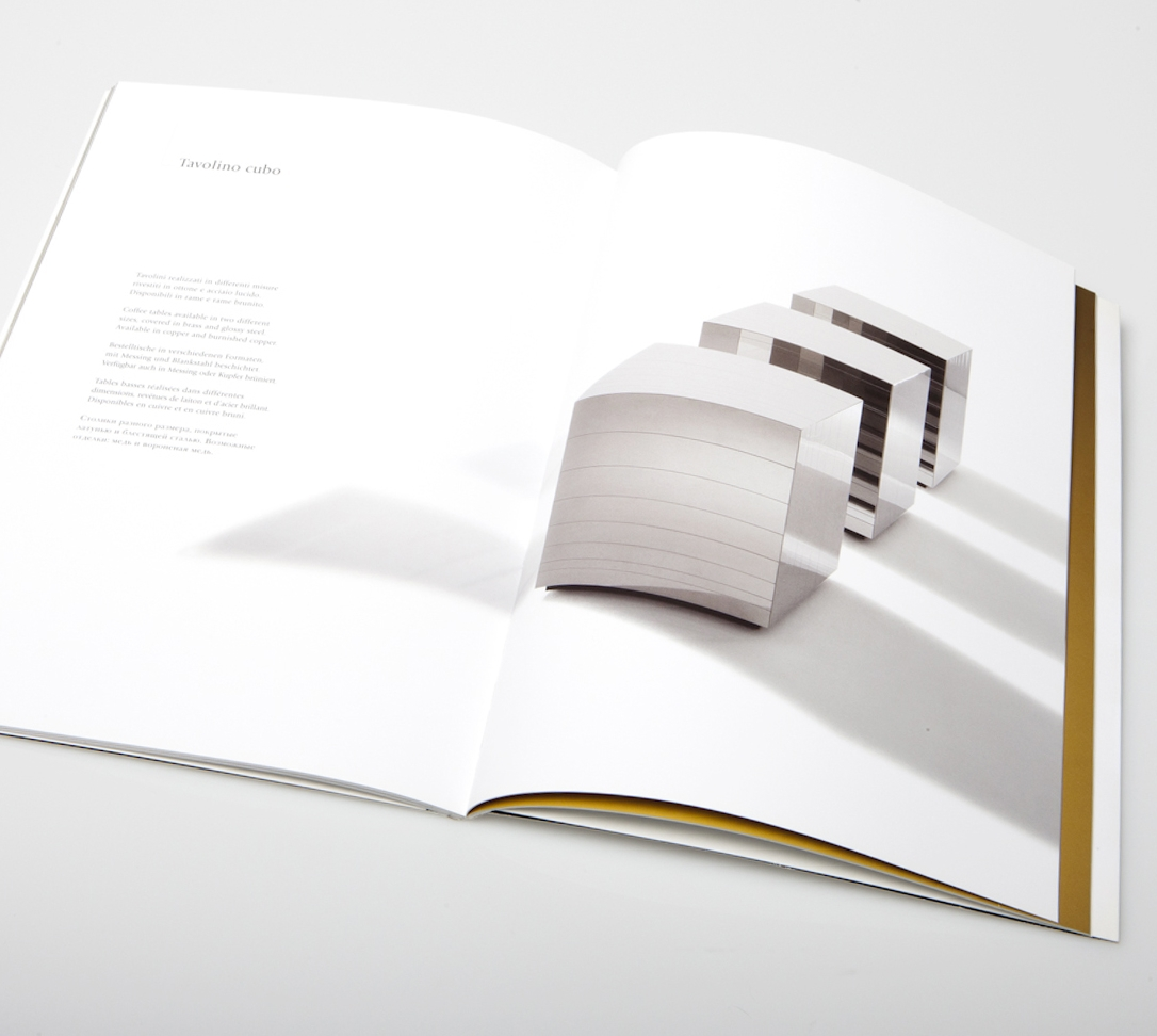 """Laura Meroni"" Collection  Design Catalogue, Valentini Cesarotti Editions, Lecco, 2009"