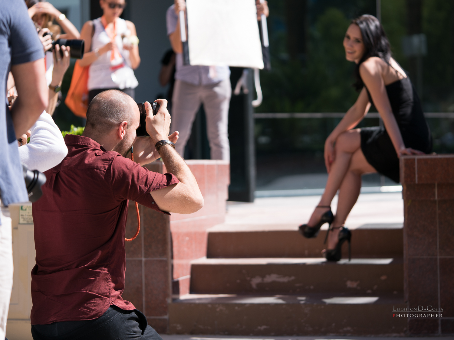 International Wedding Photographer Mike Colon doing what he does best, creating beautiful images.