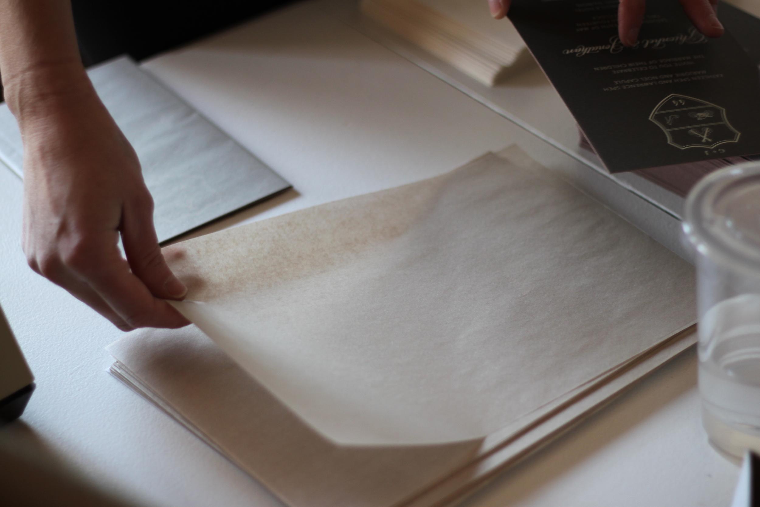 Nimble-Well-Labor-of-Love-Sarah-Drake-Design-metallic-tissue-paper