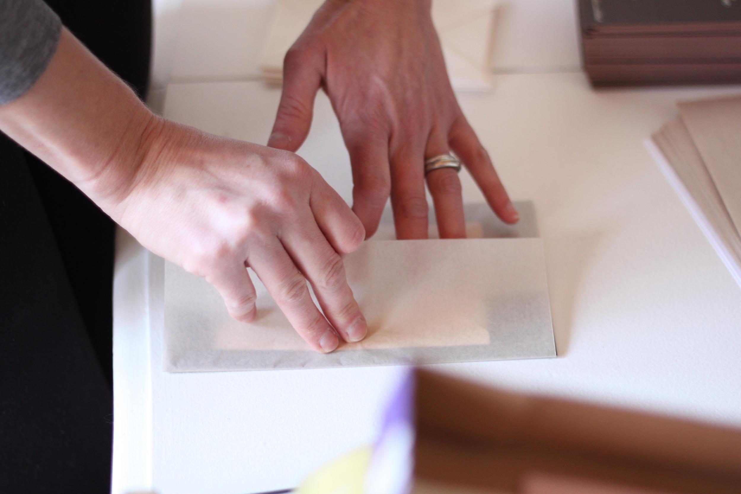 Nimble-Well-Labor-of-Love-Sarah-Drake-Design-wedding-invitation-folding
