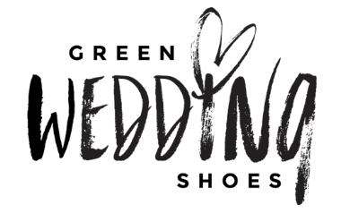 green wedding shoes logo