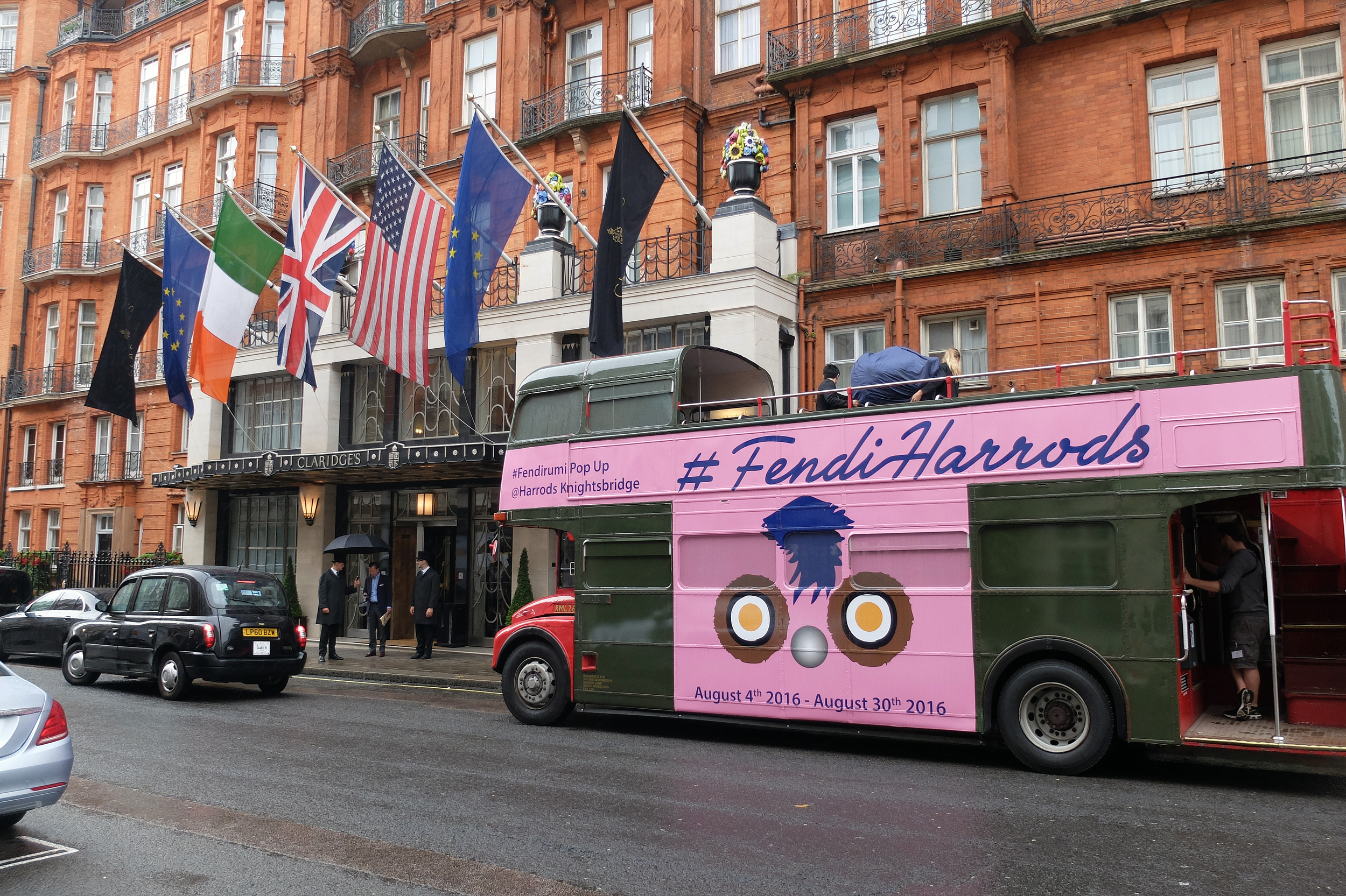 Harrods - Fendi Bus Tour