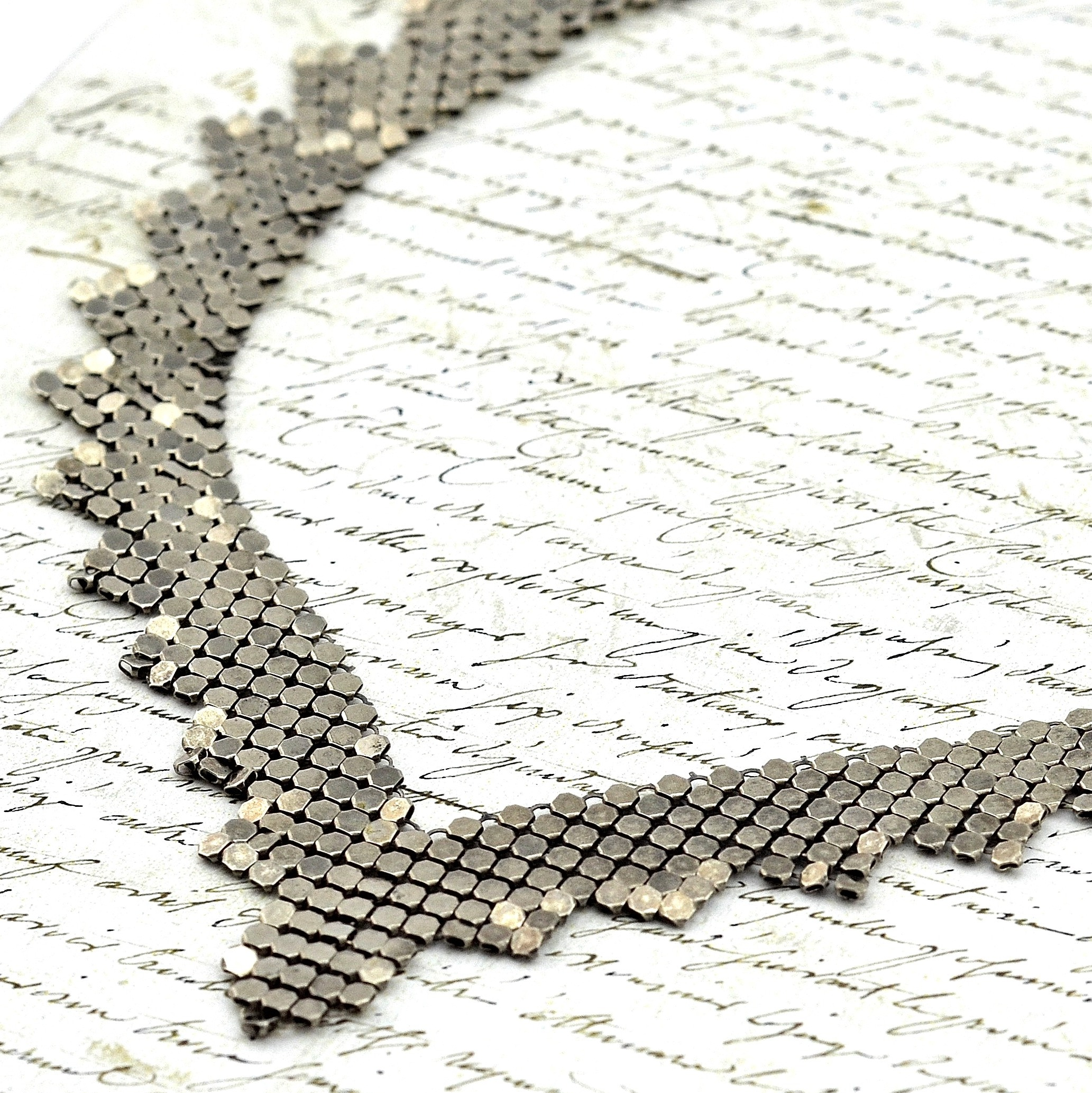 Vintage Sparkle Chain Necklace from MRS Designs