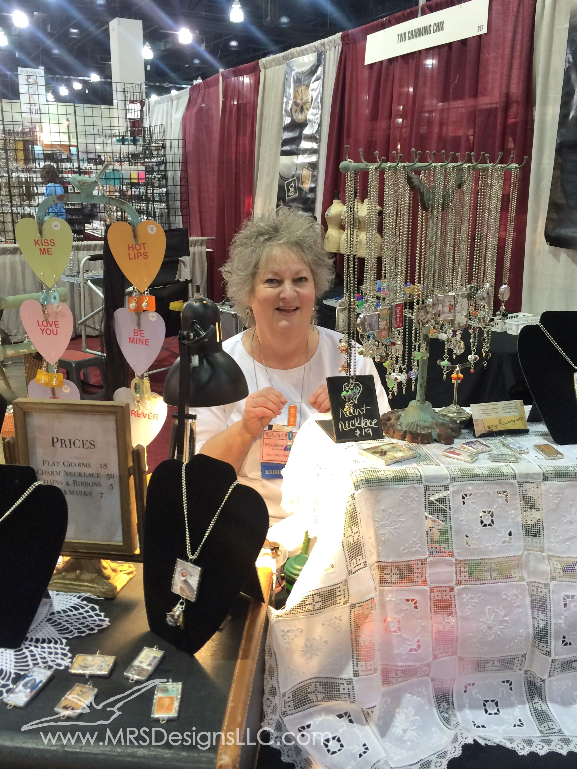 MRS Designs LLC meets Diane Thaemart of Two Charming Chix