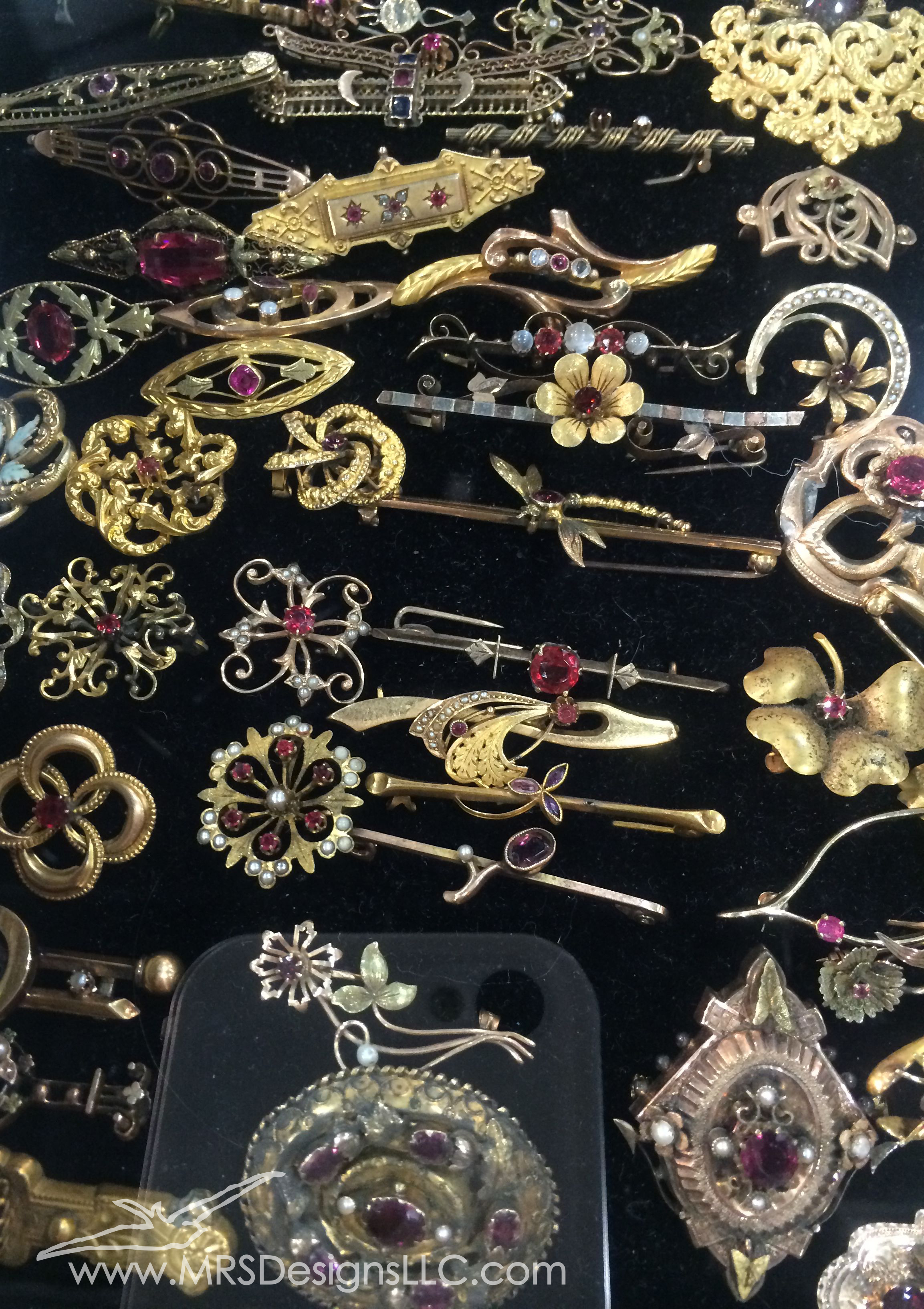 MRS Designs Vintage Straight Pins at Bead and Button Show.jpg