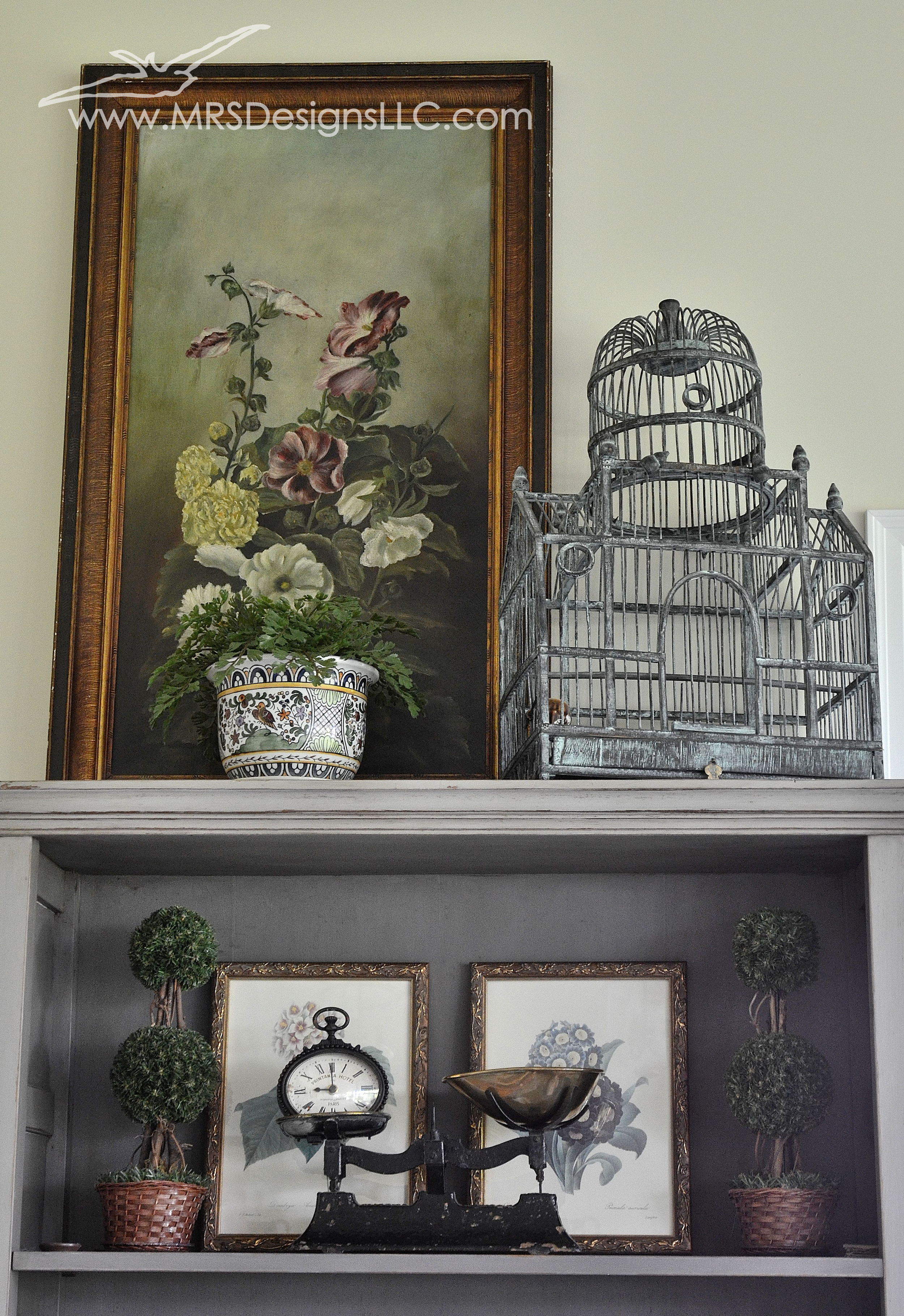 MRS Designs Blog - Using Vintage Scales to Decorate Your Home