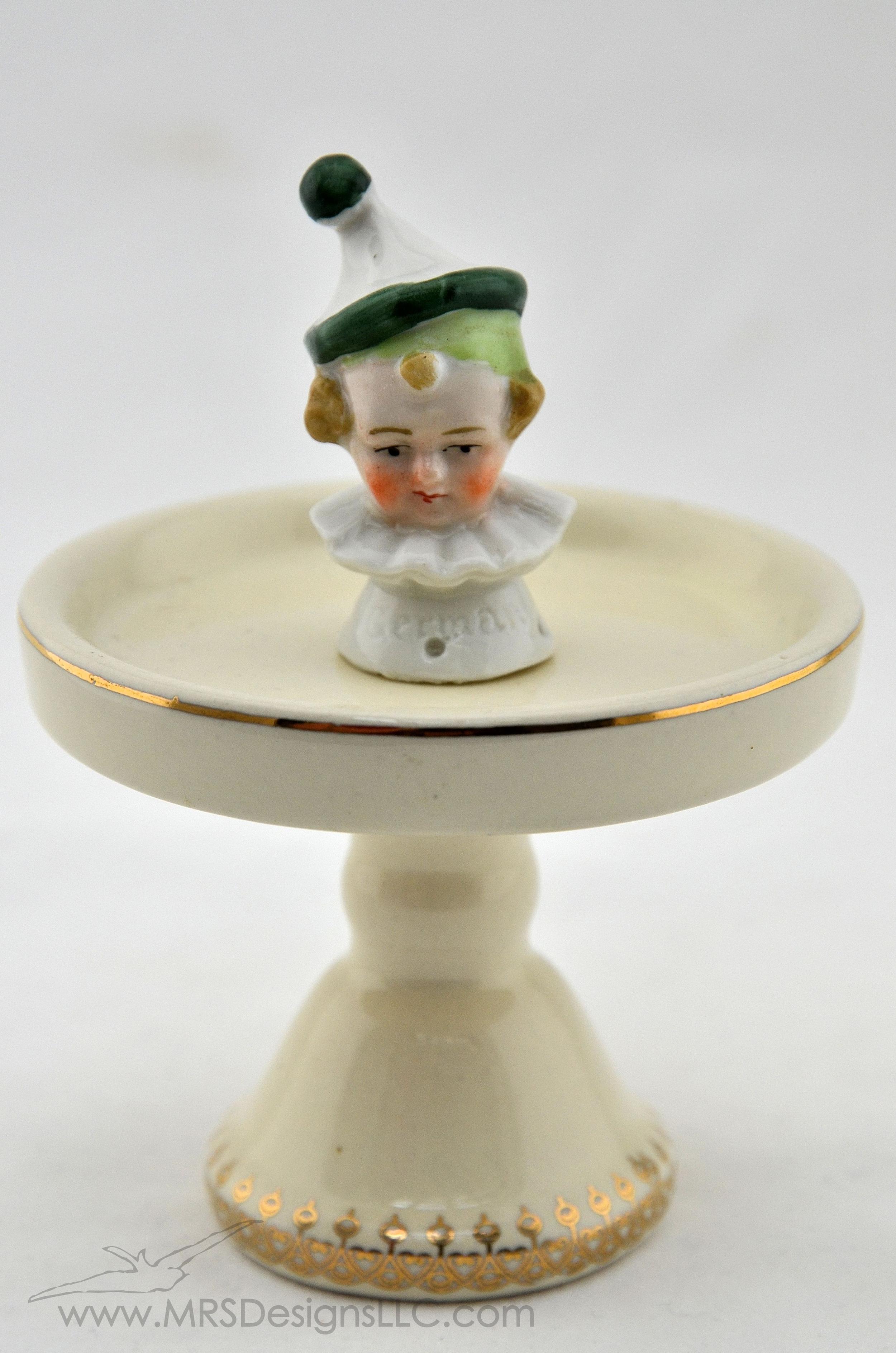 MRS Designs Blog - Vintage Half Dolls, Jester