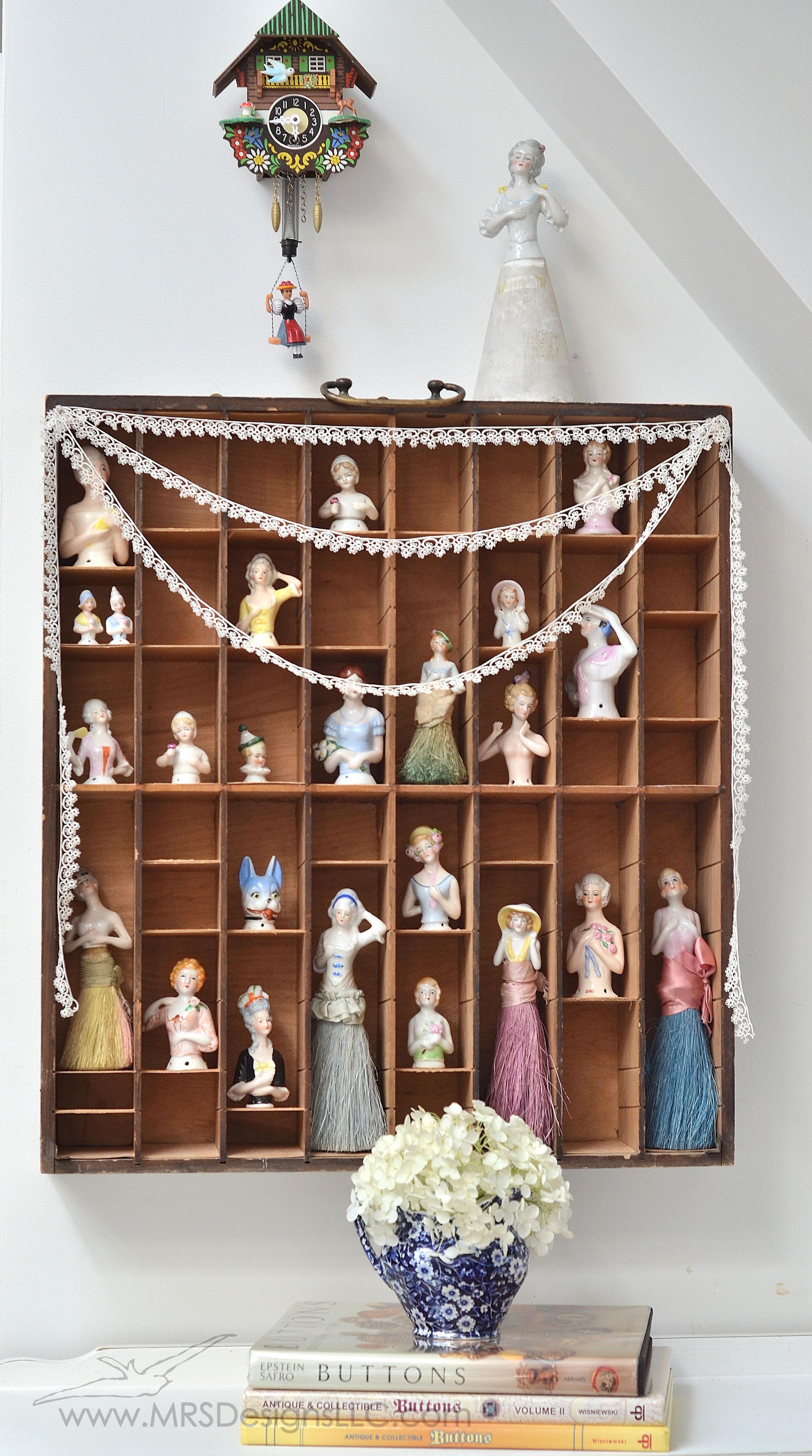 MRS Designs Blog - Vintage Half Dolls Collection