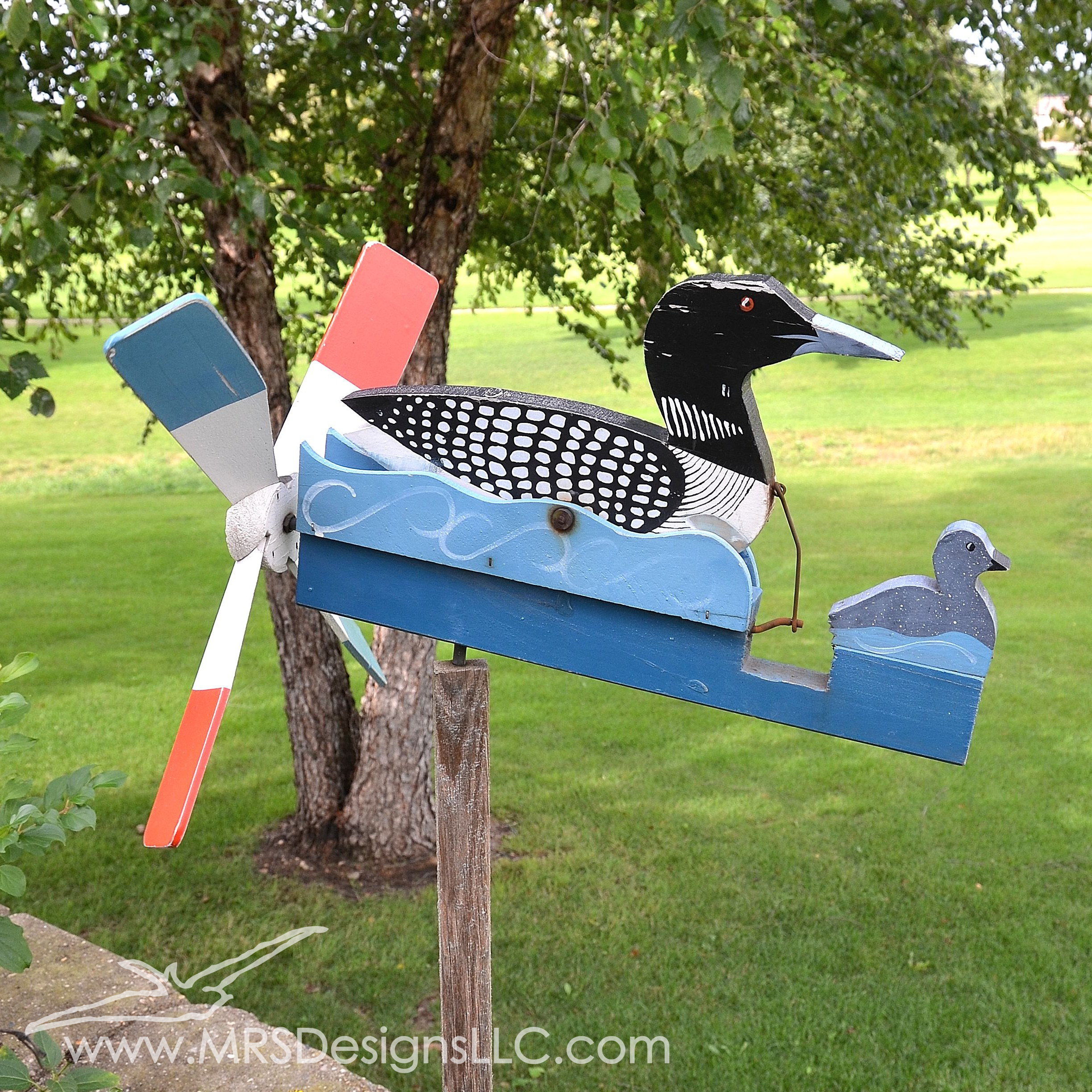 MRS Designs Blog - Loons swimming in the wind.jpg