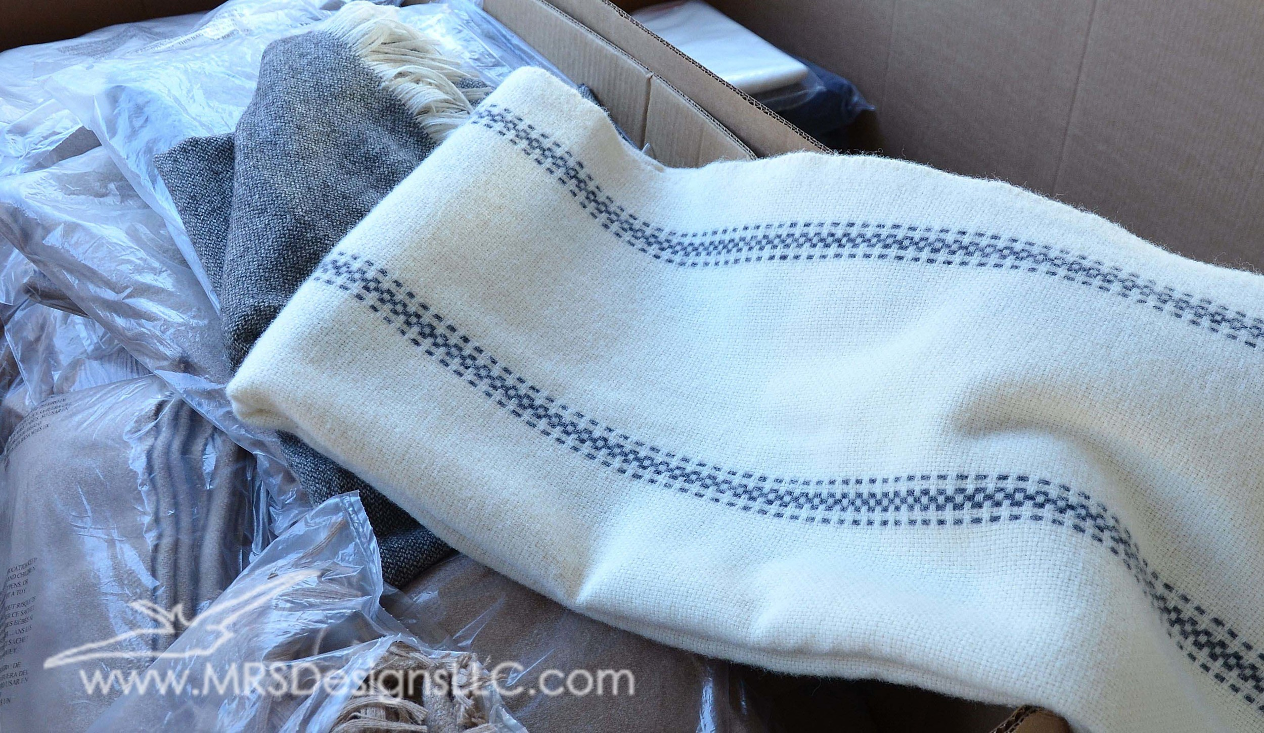 MRS Designs Blog - Annual Tent Sale at the Faribault Woolen Mills