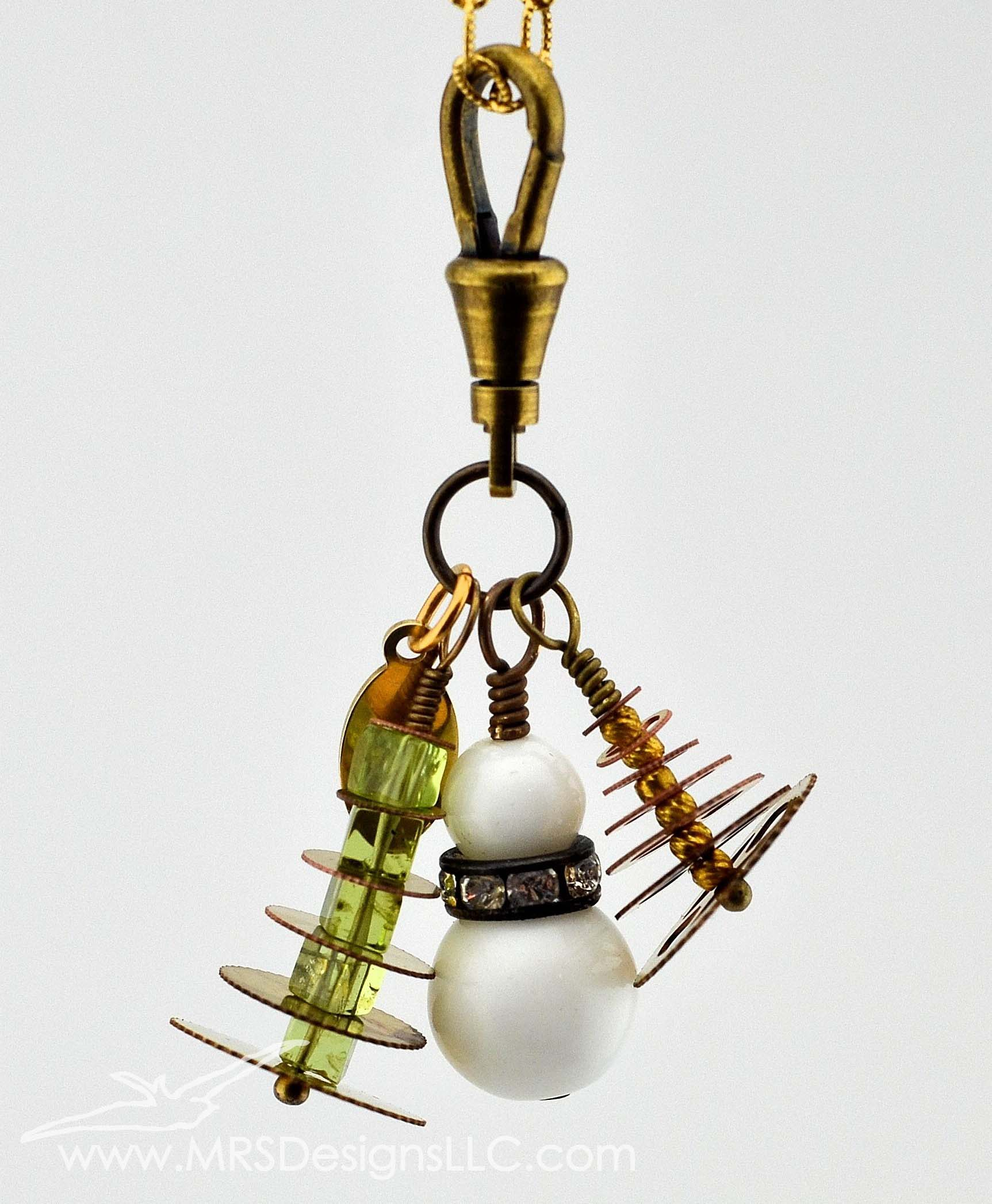 MRS Designs Blog - Charm pendants made with vintage clock gears