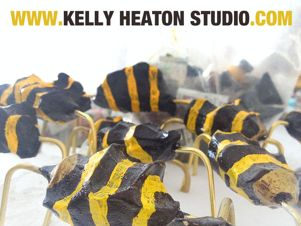 Bee resistors from a work in progress, 2014
