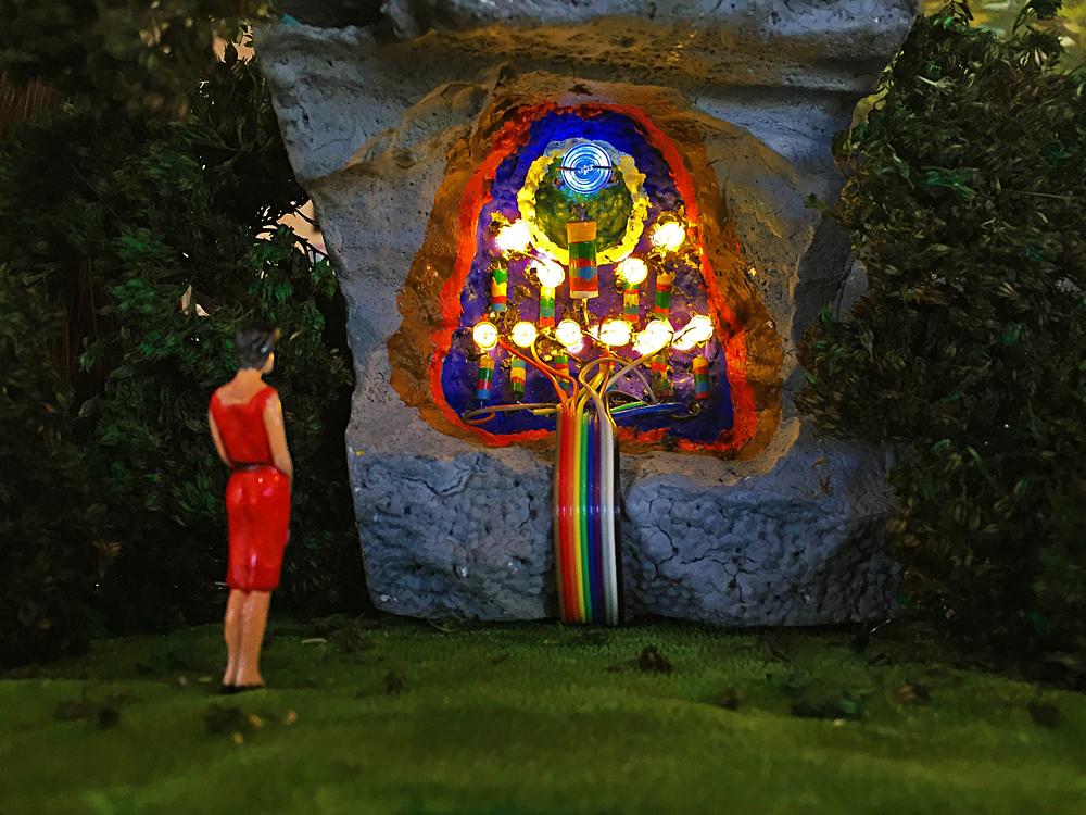 The Shrine of Enlightenment through Diminishing Resistance. Kelly Heaton, November, 2015