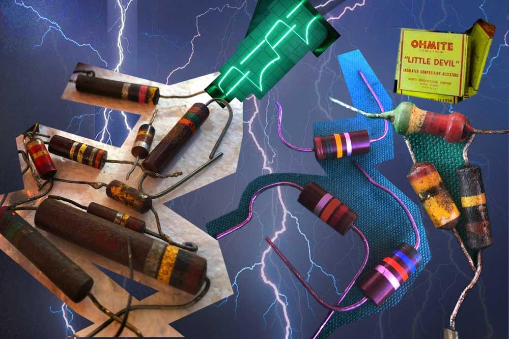 Electric Boogie, 2016. Digital photocollage (sketch). Kelly Heaton