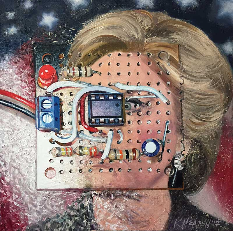 Hillary Clinton (The Big Shock), 2017