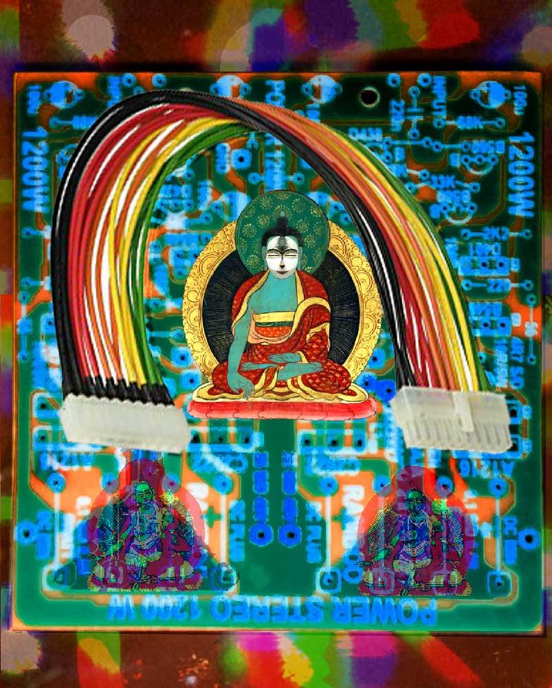 Meditation / Circuit #1, 2017. Digital sketch