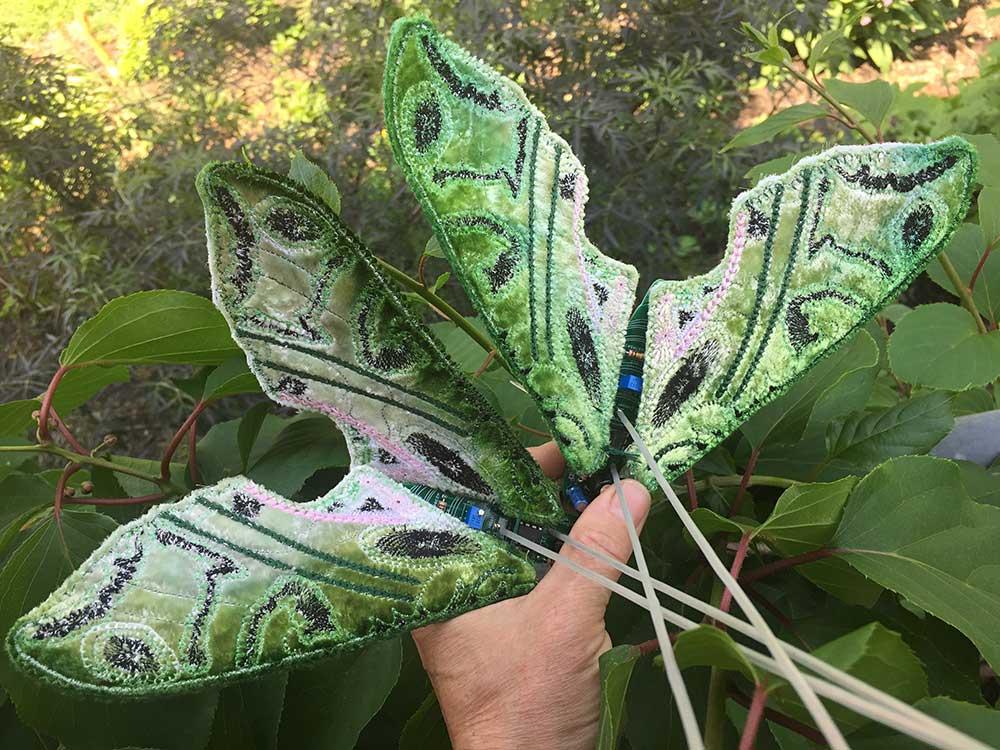Kelly Heaton embroidery art
