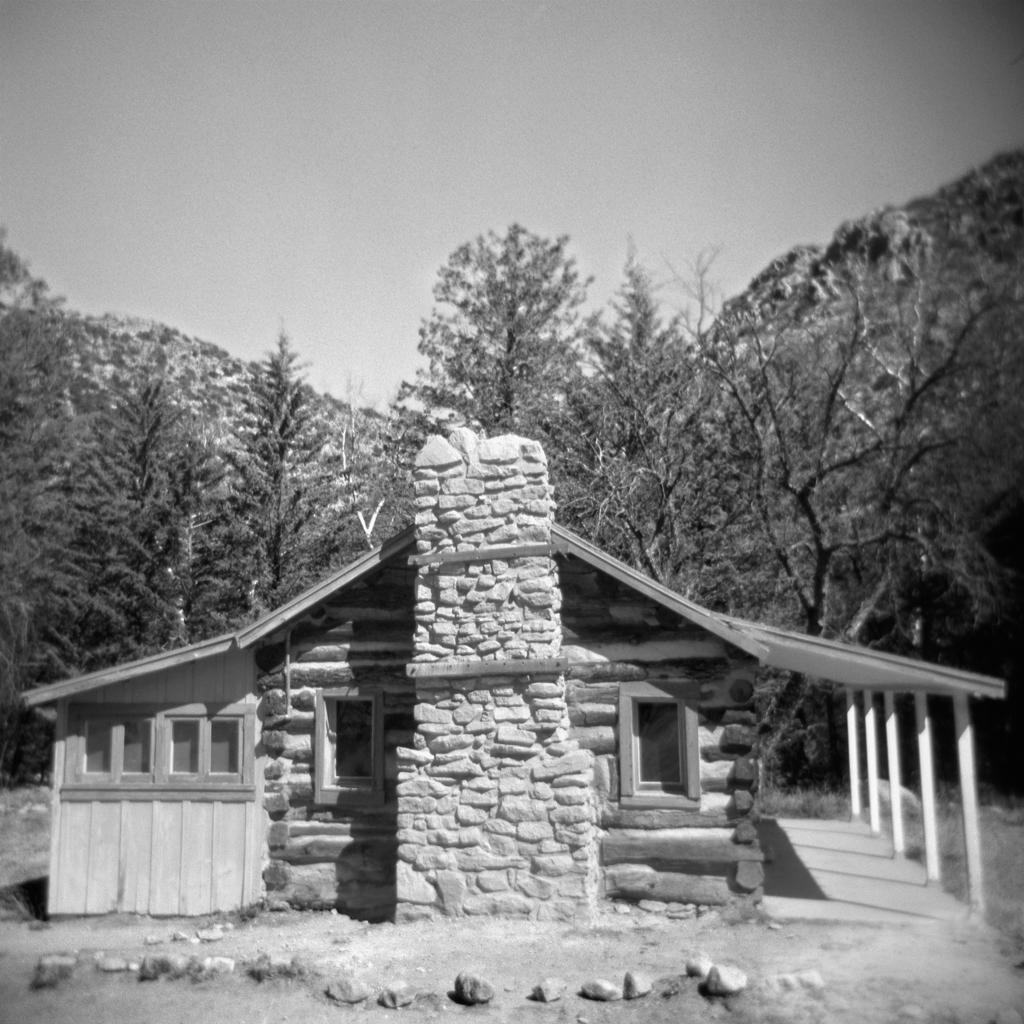 Cabin, Chiricahua National Monument. 2005.