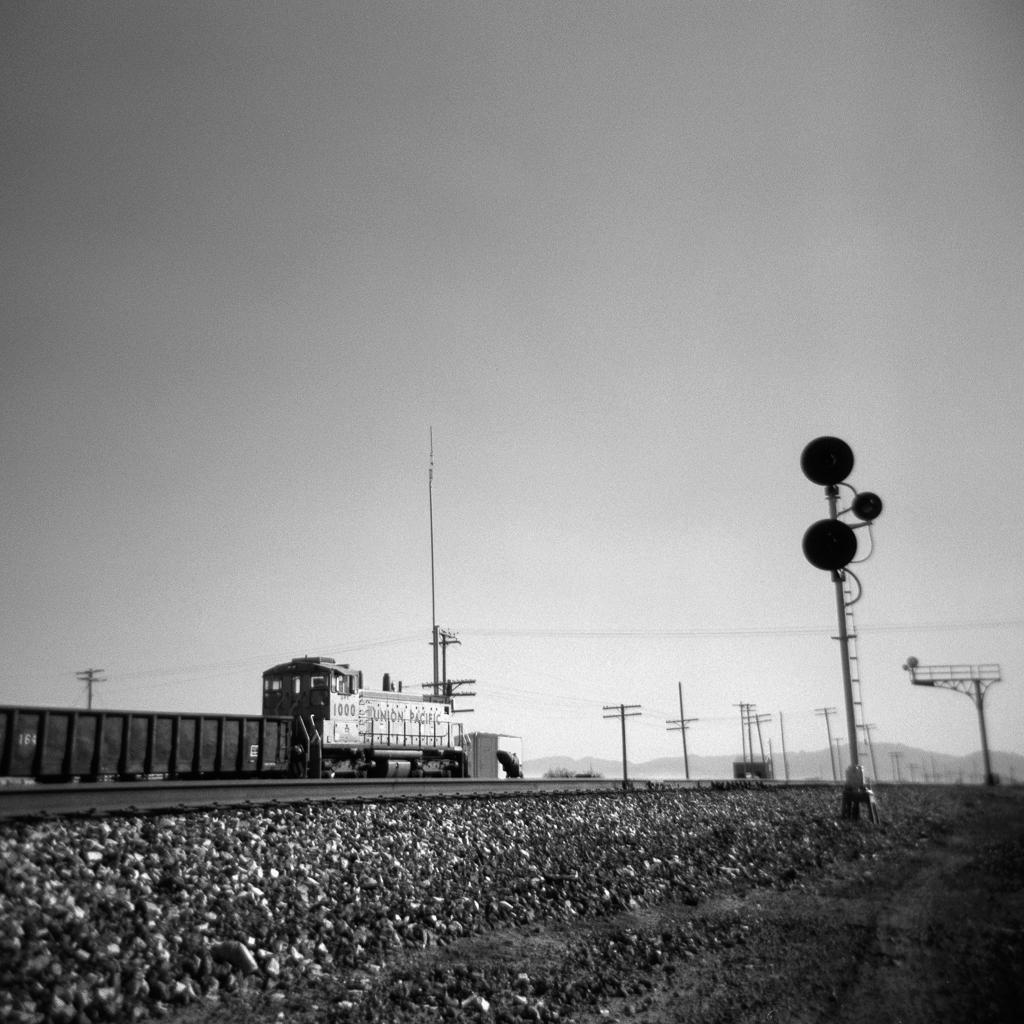 Train, Willcox. 2005.