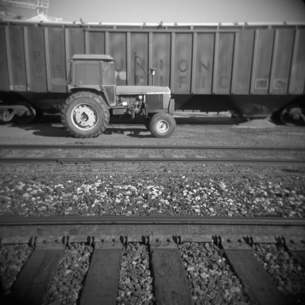 Tractor, Willcox. 2005.