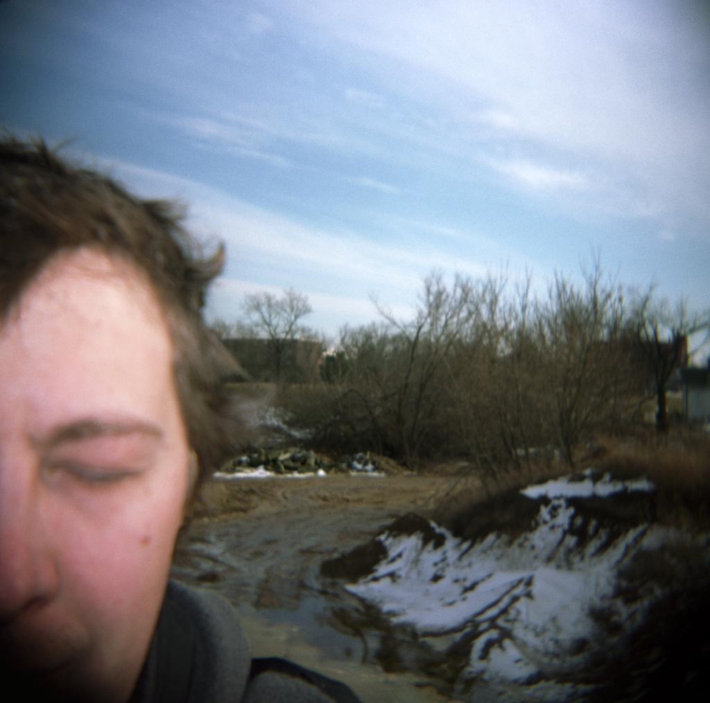 Closed-Eye Self-Portrait, Adrian, Michigan. 2003.