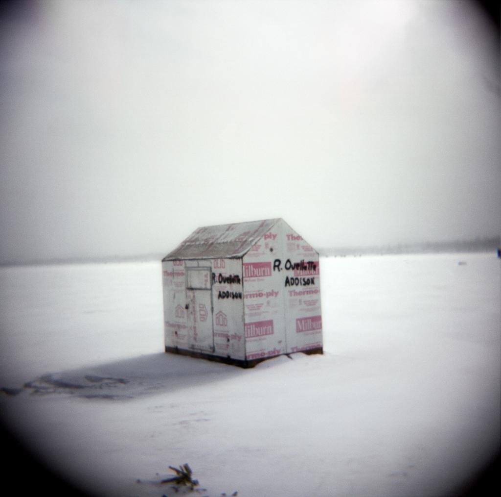 Fishing Hut, Devil's Lake, Michigan. 2003.