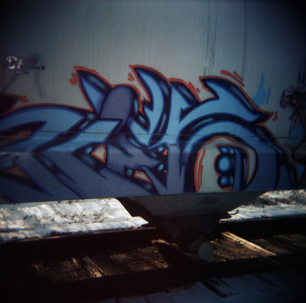 Graffiti, Adrian, Michigan. 2003.