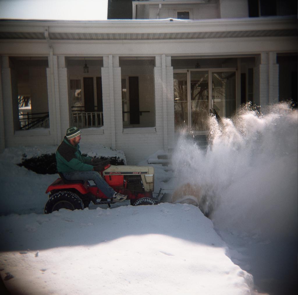 Snow Blower, Chelsea, Michigan. 2003.