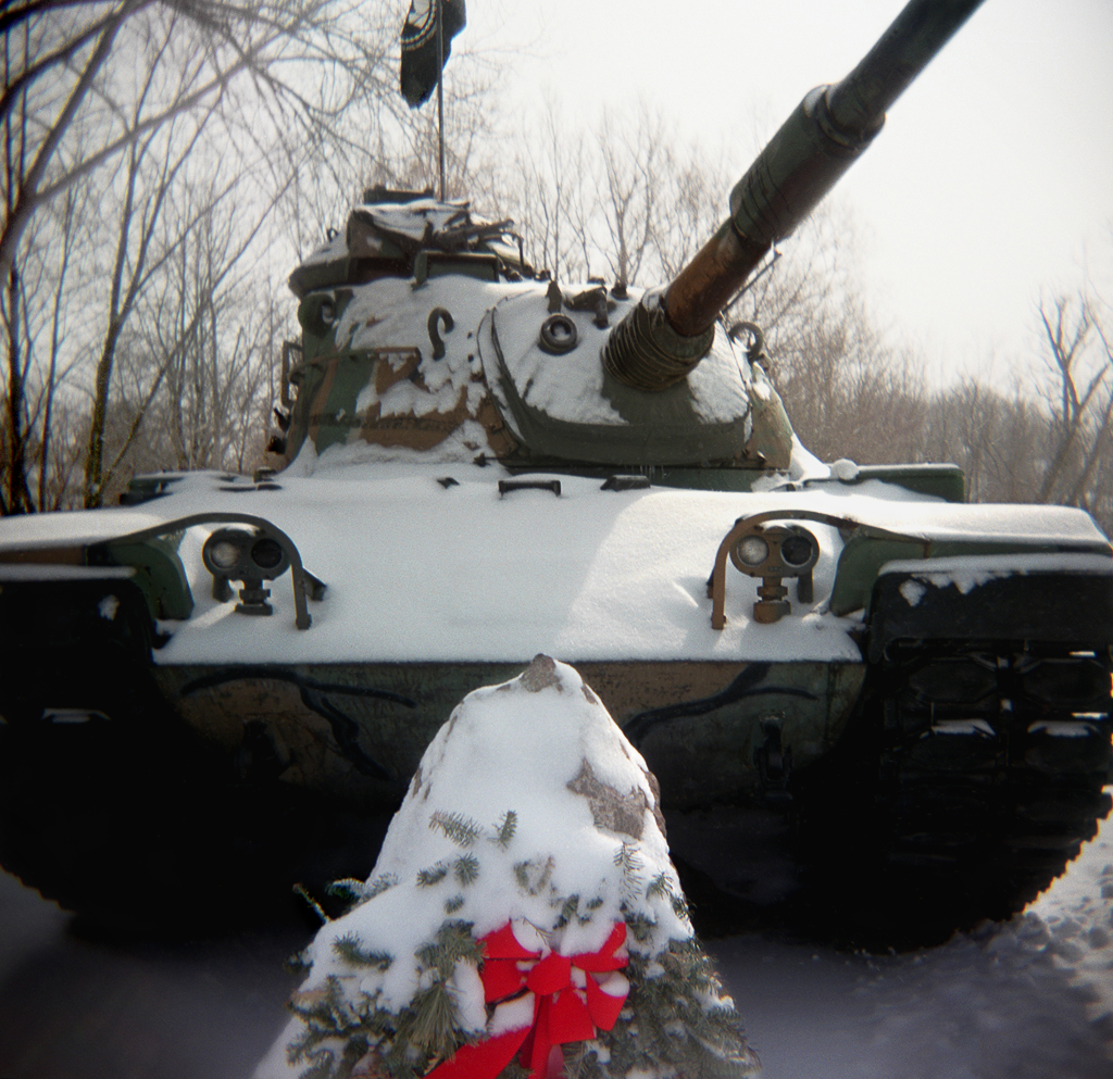 Tank, Manchester, Michigan. 2003.