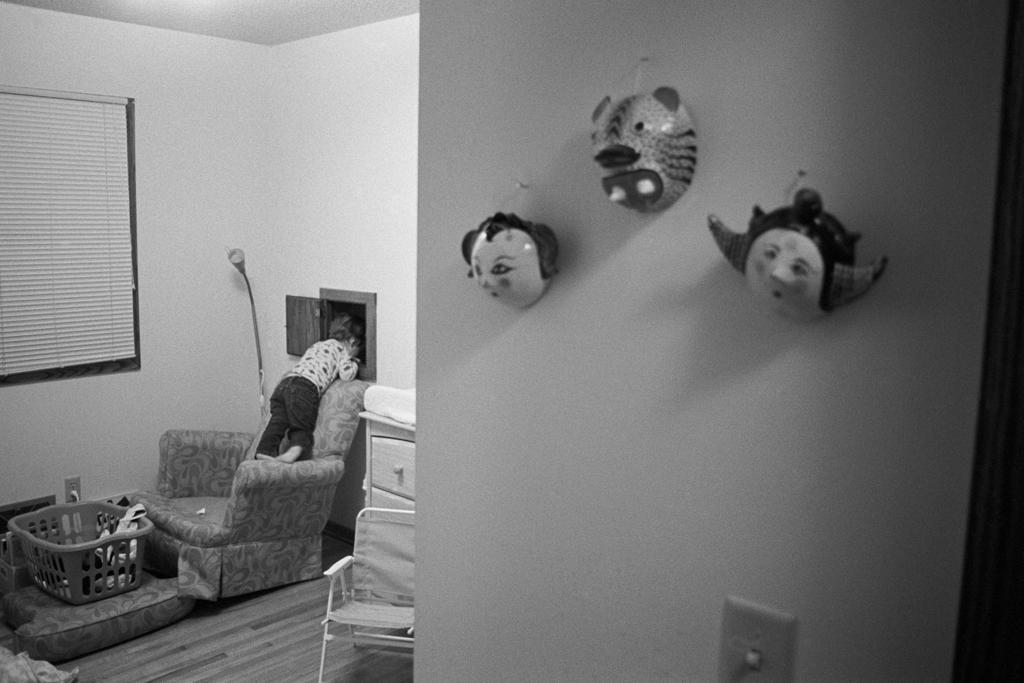 Masks, Rochester, Minnesota. 2008.