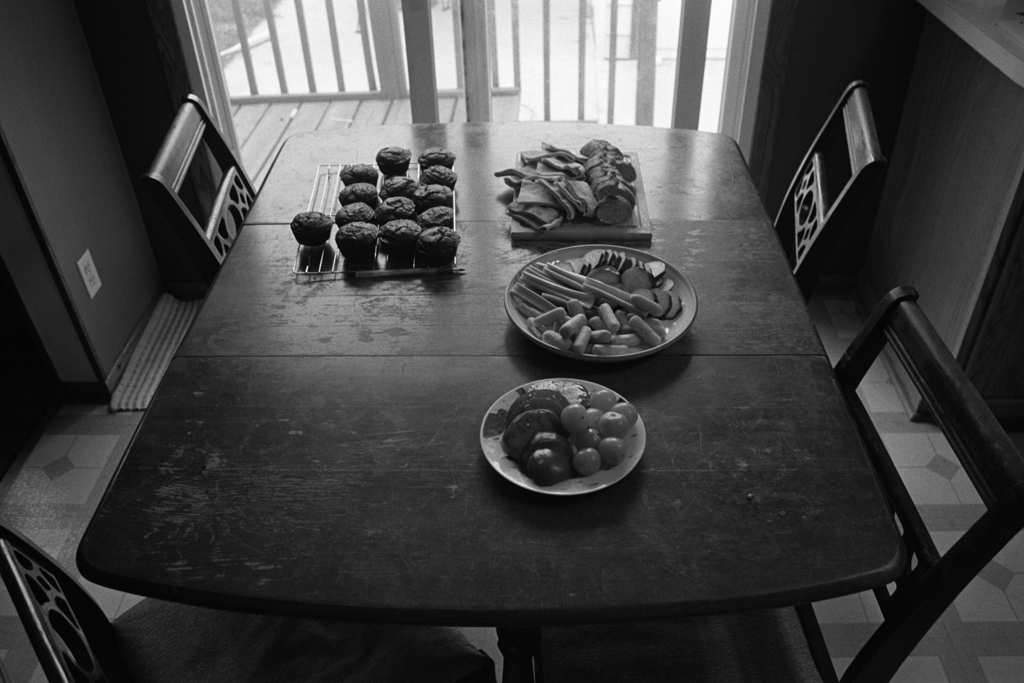 Snacks for a Playdate, Rochester, Minnesota.2009.