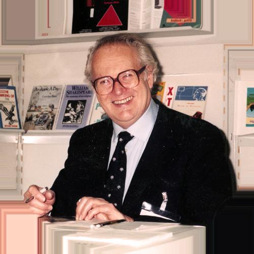 Founder Peter Knight at The Frankfurt Bookfair