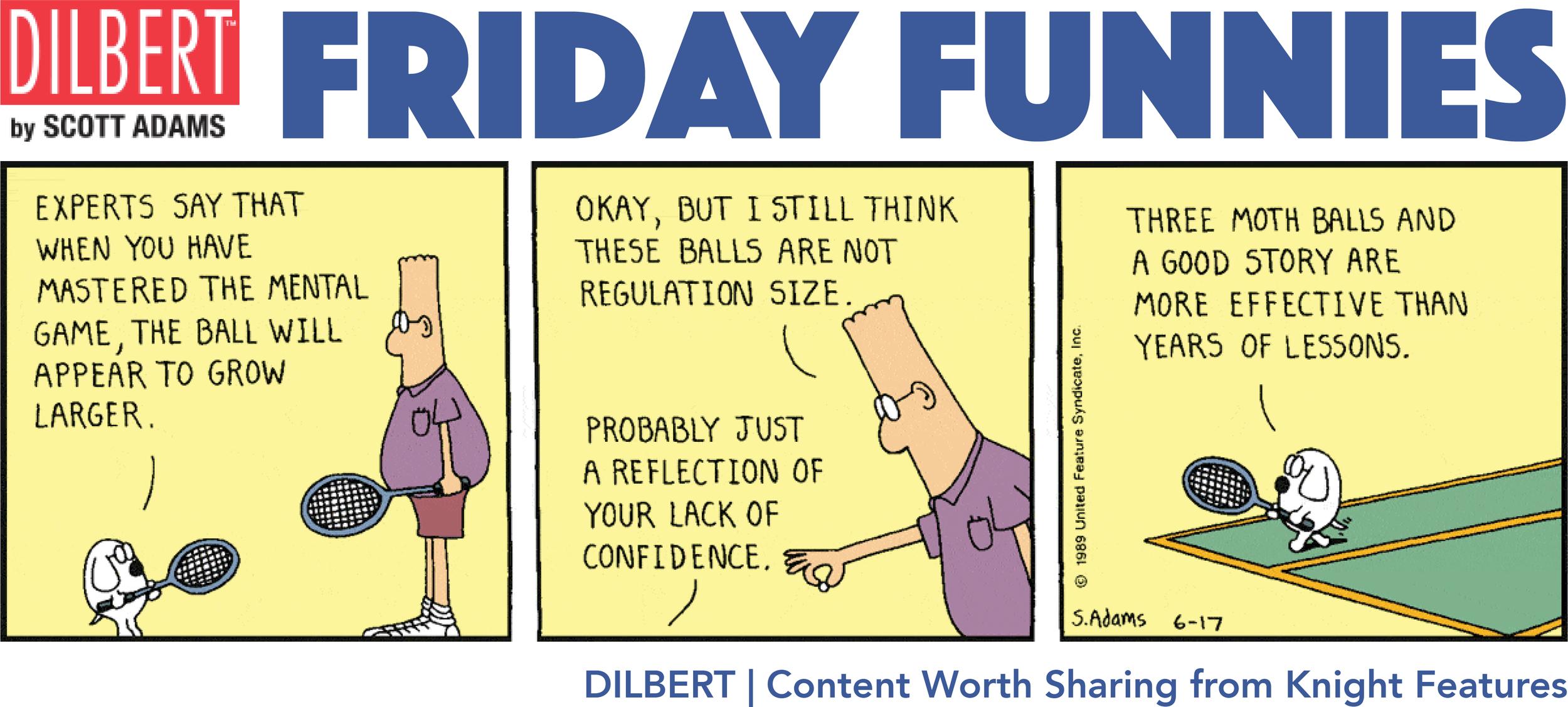 Dilbert Dist. Knight Features