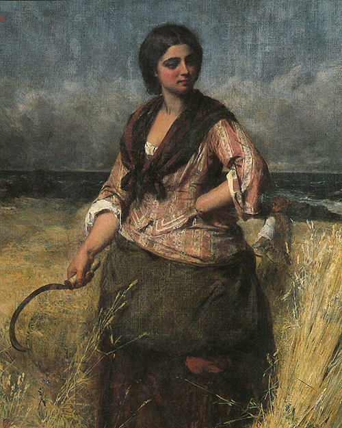 The Reaper by Thomas Faed Aberdeen Art Gallery and Museums