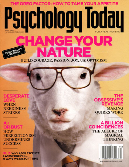 PSYCHOLOGY TODAY  In-depth stories about human behavior, as well as insights into relationships, work, education, the brain, health and nutrition, all written in easy-to-understand language.   MORE...