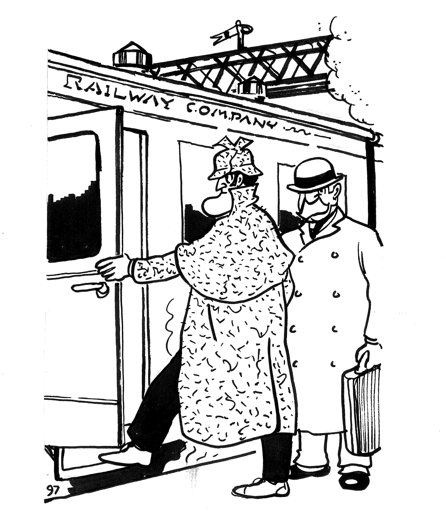 Sherlock Holmes and Doctor Watson were travelling on the London to Brighton train. They shared a compartment with four other gentlemen. Messrs: ANDREWS, BAKER, CLARK and DAVIS. The four obviously knew each other well and chatted all the way to Brighton. Their occupations were:  STOCK BROKER; BANKER, SHOP OWNER and SOLICITOR (Although not necessarily in that order). From the following information gathered by Holmes can you determine the occupation of each man?  1. Mr Andrews had never played golf.  2. Mr Davis isn't the banker.  3. Mr Clark bought his last set of golf clubs from the stockbroker.  4. Mr Andrews was very friendly with the bank manager.  5. The shop owner and Mr Baker often played golf with the stockbroker.
