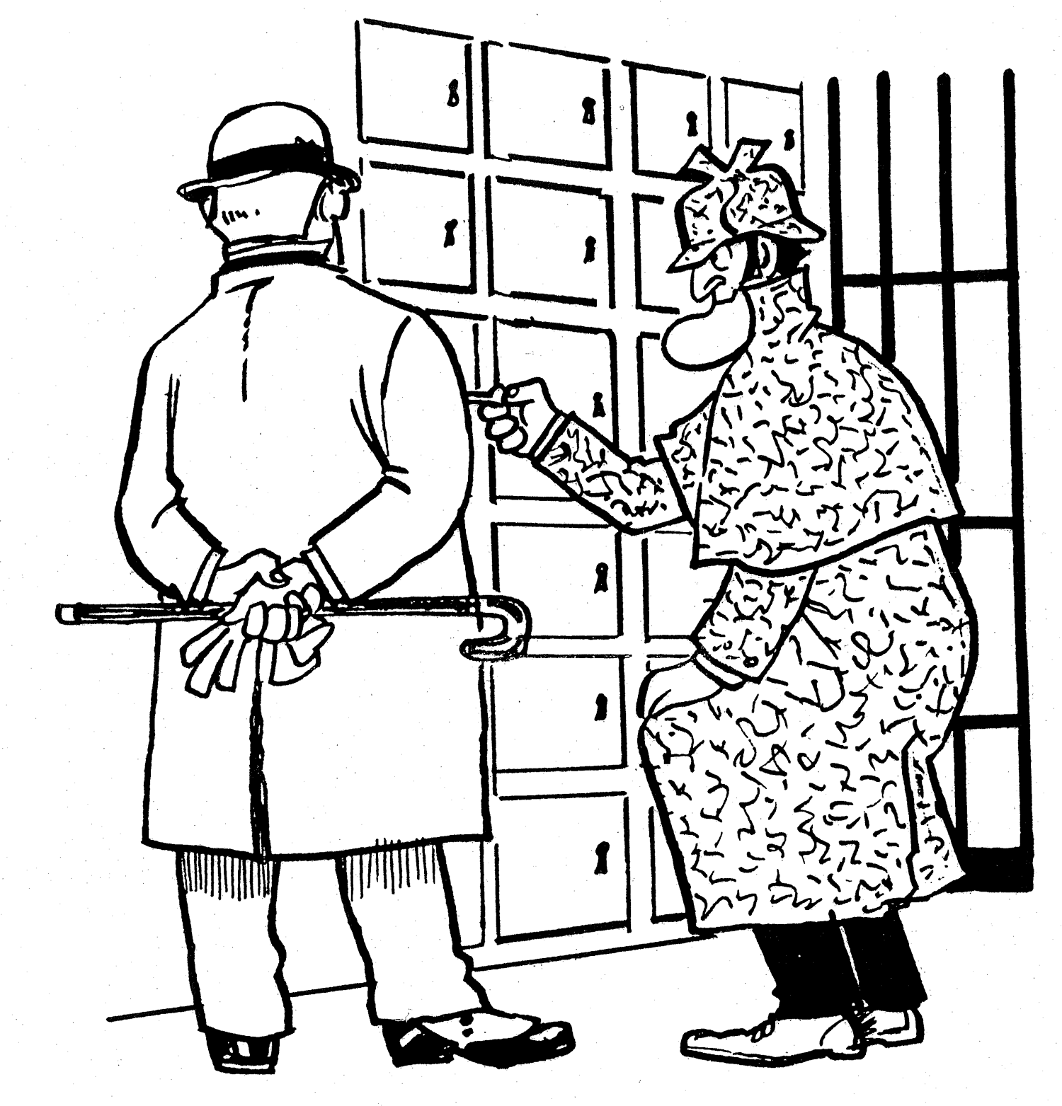 """While working on a case Holmes receives vital information from a mysterious source in the form of a note.  The note reads: Go to the Dunwick Bank. Inside each of the safety deposit boxes listed below you will find a clue to the crime you are presently investigating.  BOX NUMBERS : 20, 80, 76, 19, 23, 92, 88 and ?  I have omitted to tell you the number of the last box, but I'm sure a great detective such as yourself will know where to look.  Holmes read the note then passed it to Doctor Watson.  """"Most inconvenient,"""" muttered Watson."""" Now we'll have to open every single safety deposit box to find the last clue.""""  """"Not so, Watson."""" replied Holmes."""" I know exactly which box to open. Come along Watson, let's hurry to the Dunwick Bank.""""  What was the number of the last safety deposit box?"""